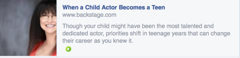 Jackie Reid_BackstageArticle_When Child becomes Teen Actor