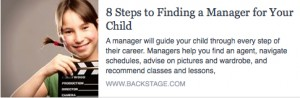 BS-8 Steps to Finding a Manager for Your Child