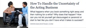 BS-How to Handle the Uncertainty of the Acting Business