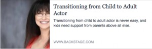 BS-Transitioning from Child to Adult Actor