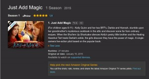 2015-Just Add Magic - Amazon Posting