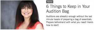 BS-6 Things to Keep in Your Audition Bag (April 2015)